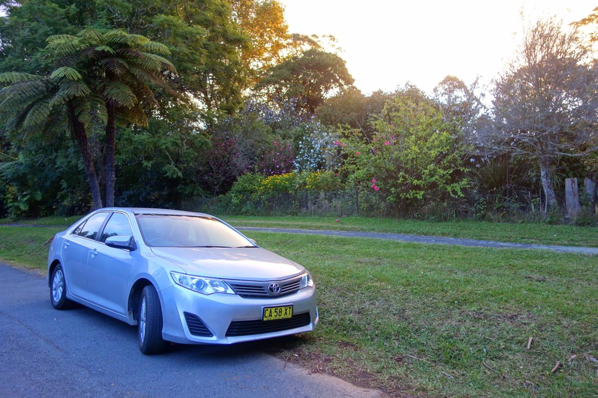 La voiture de location de notre voyage en Australie