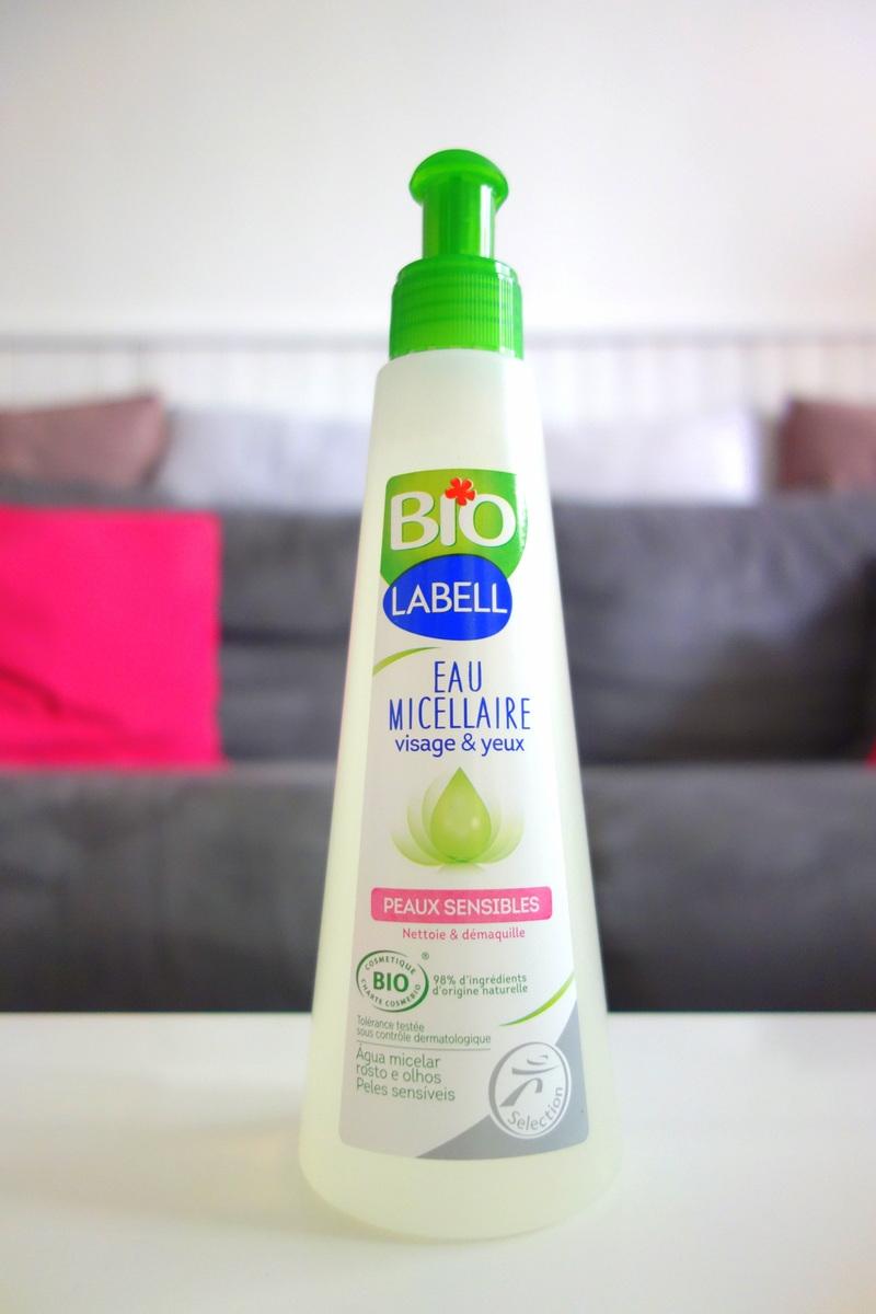 Victoires de la beauté 2018 - Produit à tester : eau micellaire Labell