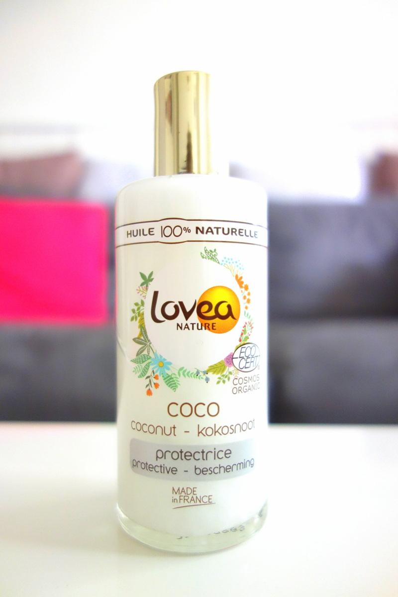 Victoires de la beauté 2018 - Produit à tester : huile de coco Lovea