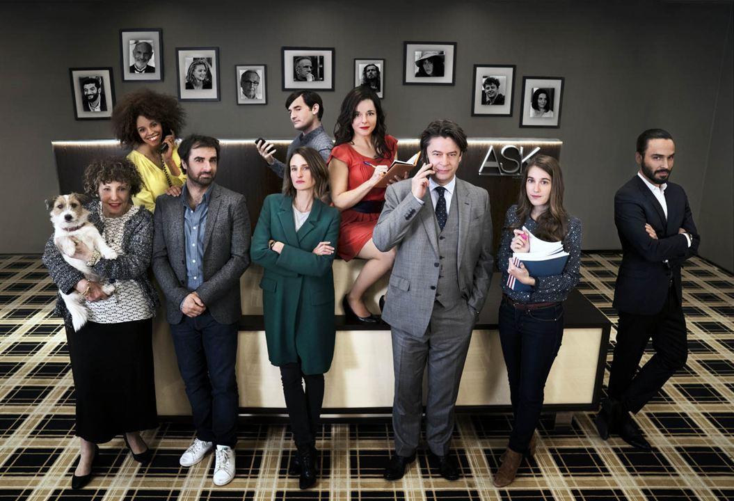 Dix pour cent, la série française