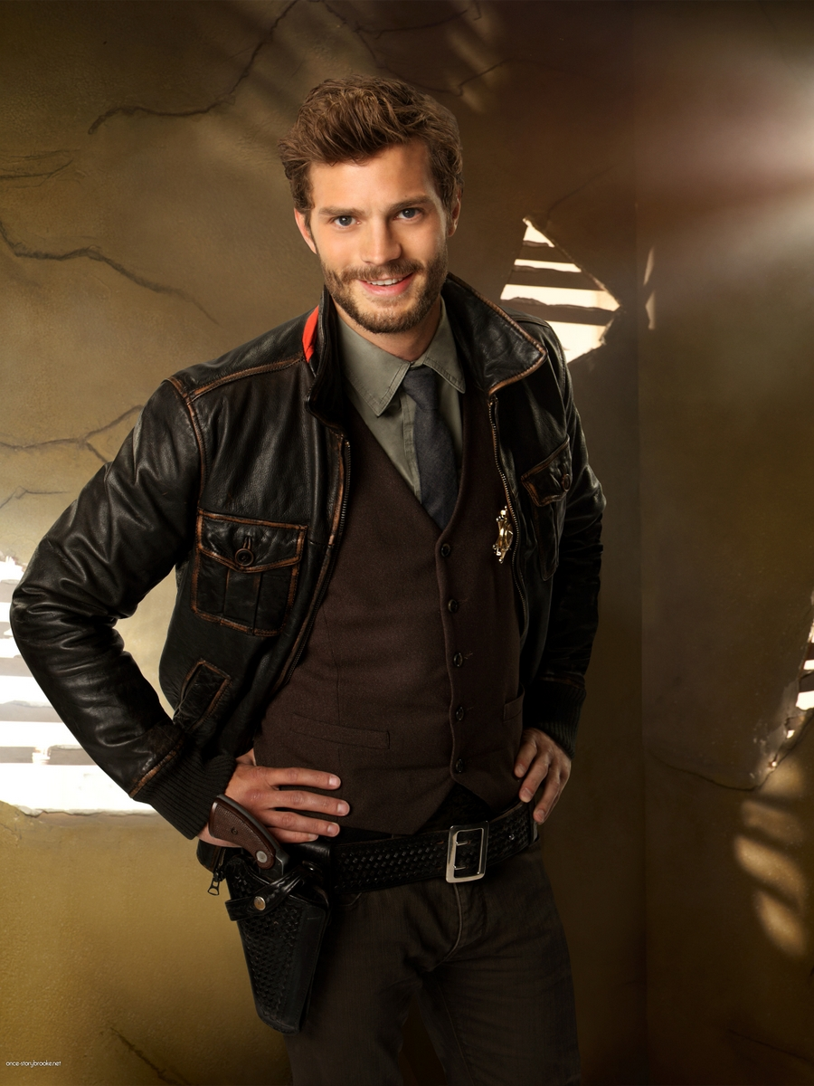 "Jamie Dornan, le chasseur de ""Once upon a time"""