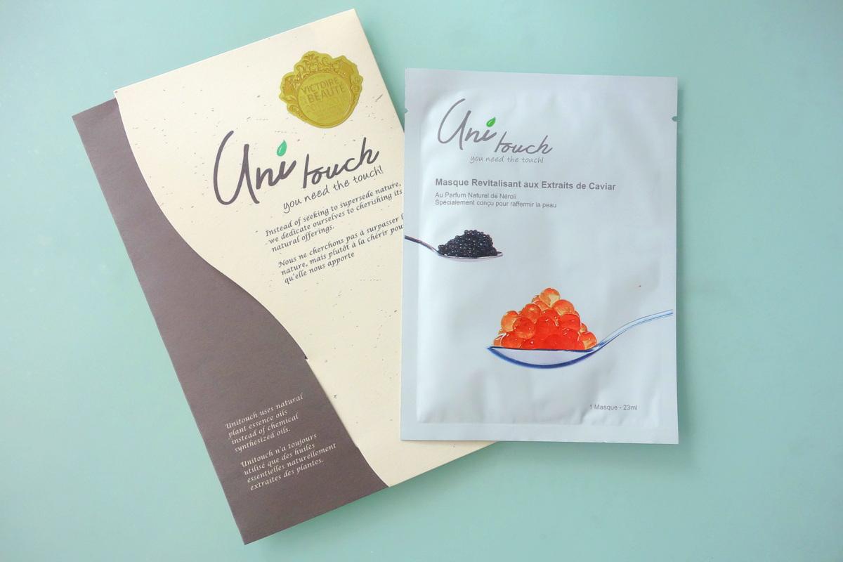 Masque caviar revitalisant Unitouch - Victoires de la beauté