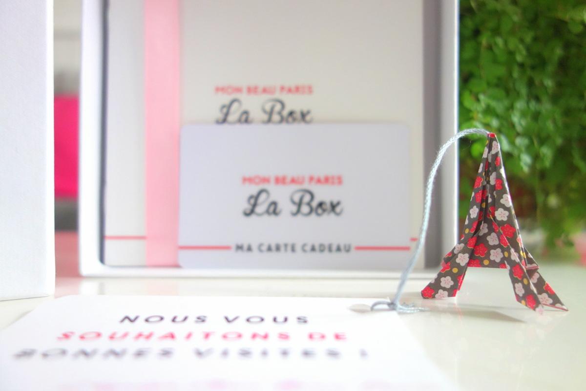 Mon beau Paris, la box