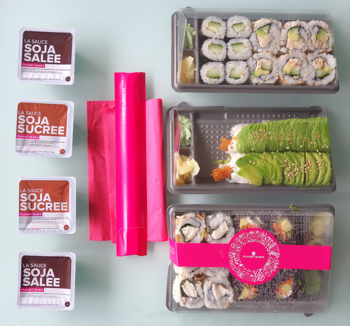 Planet sushi Montrouge - Allo resto by Just eat - Blog food Paris
