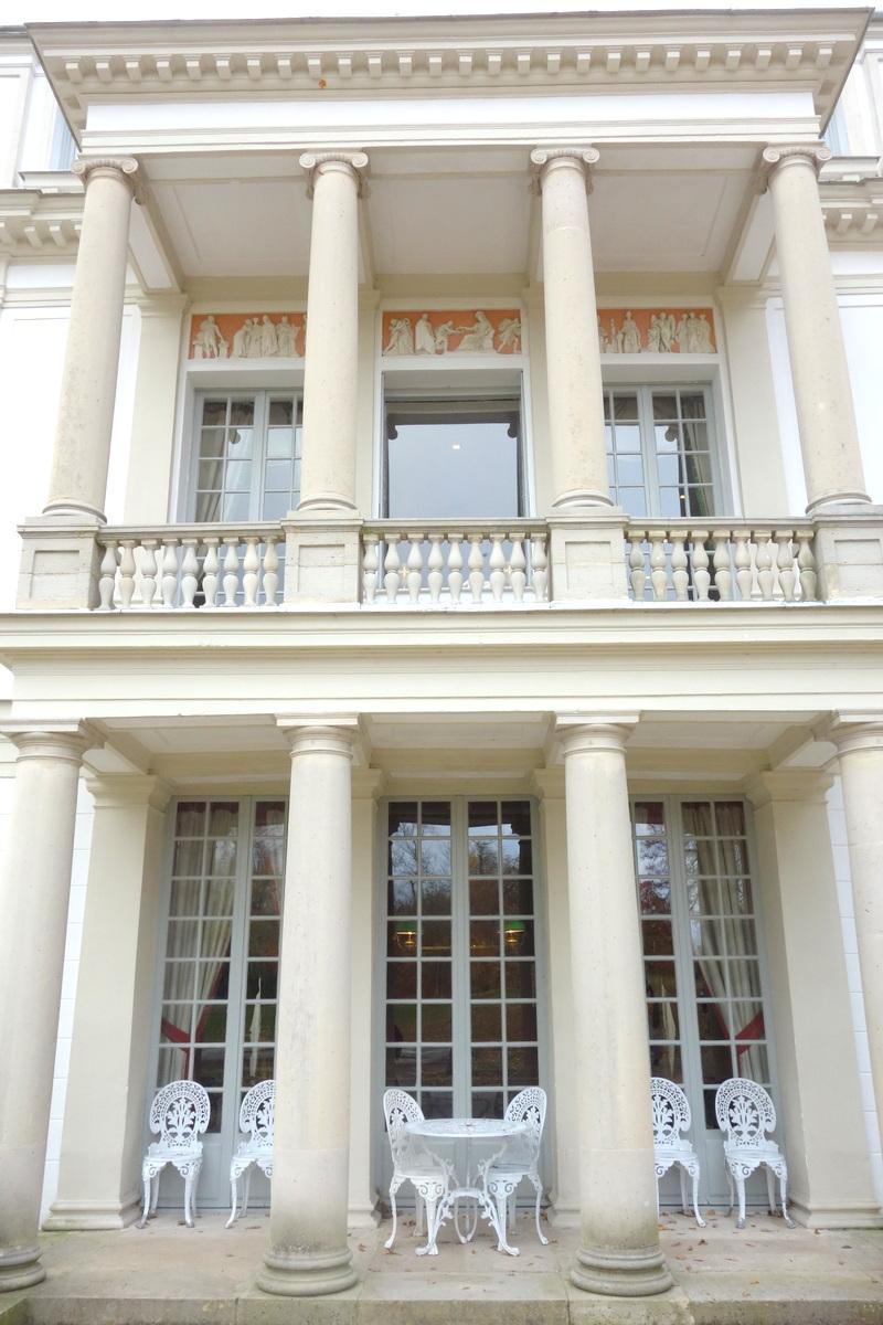Visite de la propriété Caillebotte : la maison