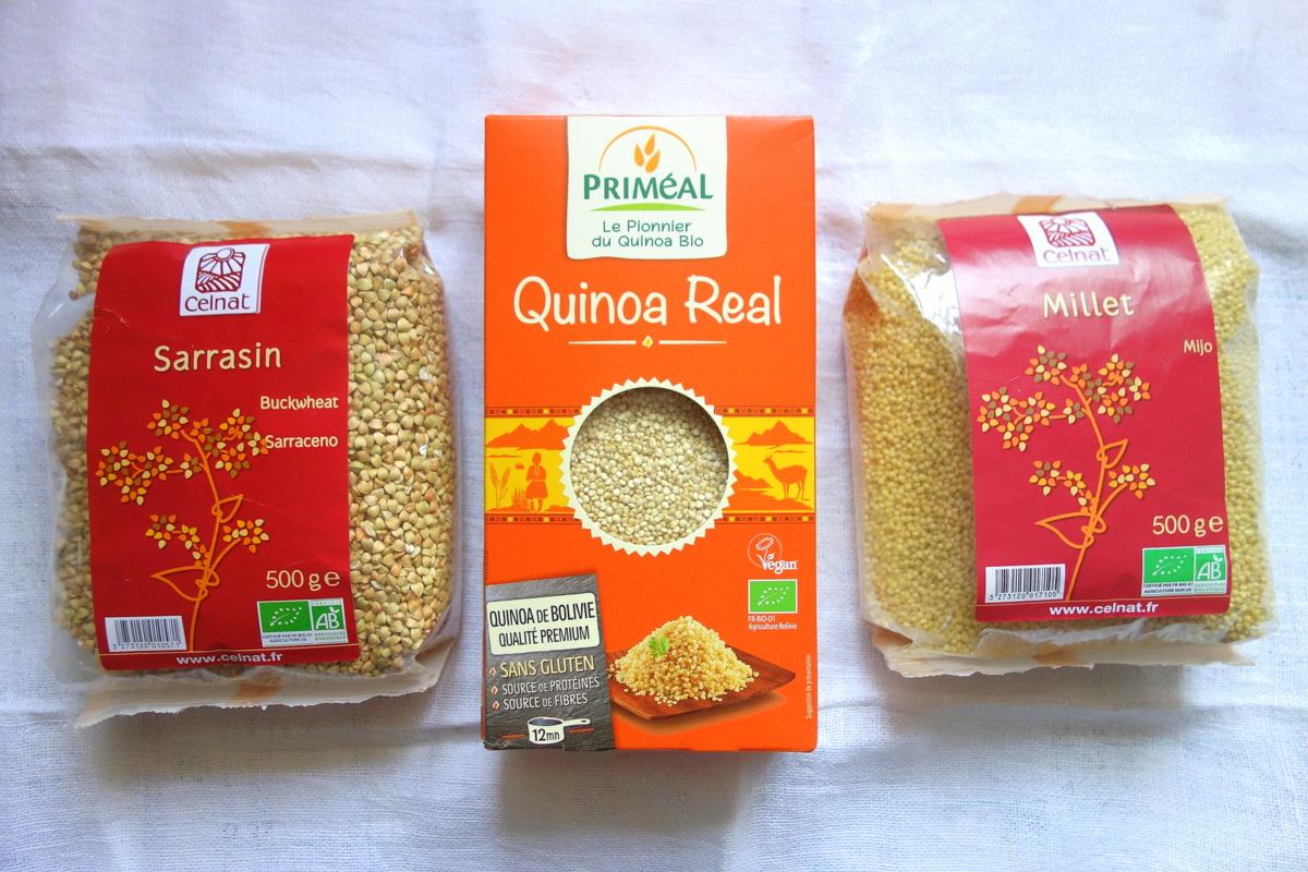 Millet, quinoa et sarrasin Bonneterre