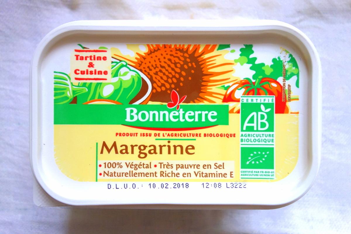 Margarine Bonneterre