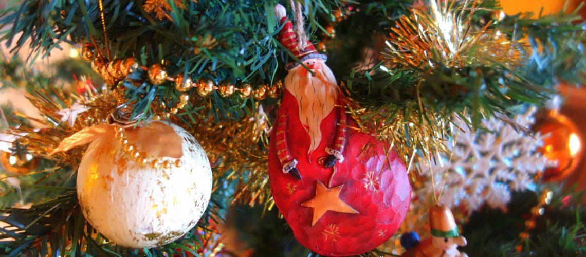 Joyeux Noël 2017 - Détail du sapin - Le blog de Lili