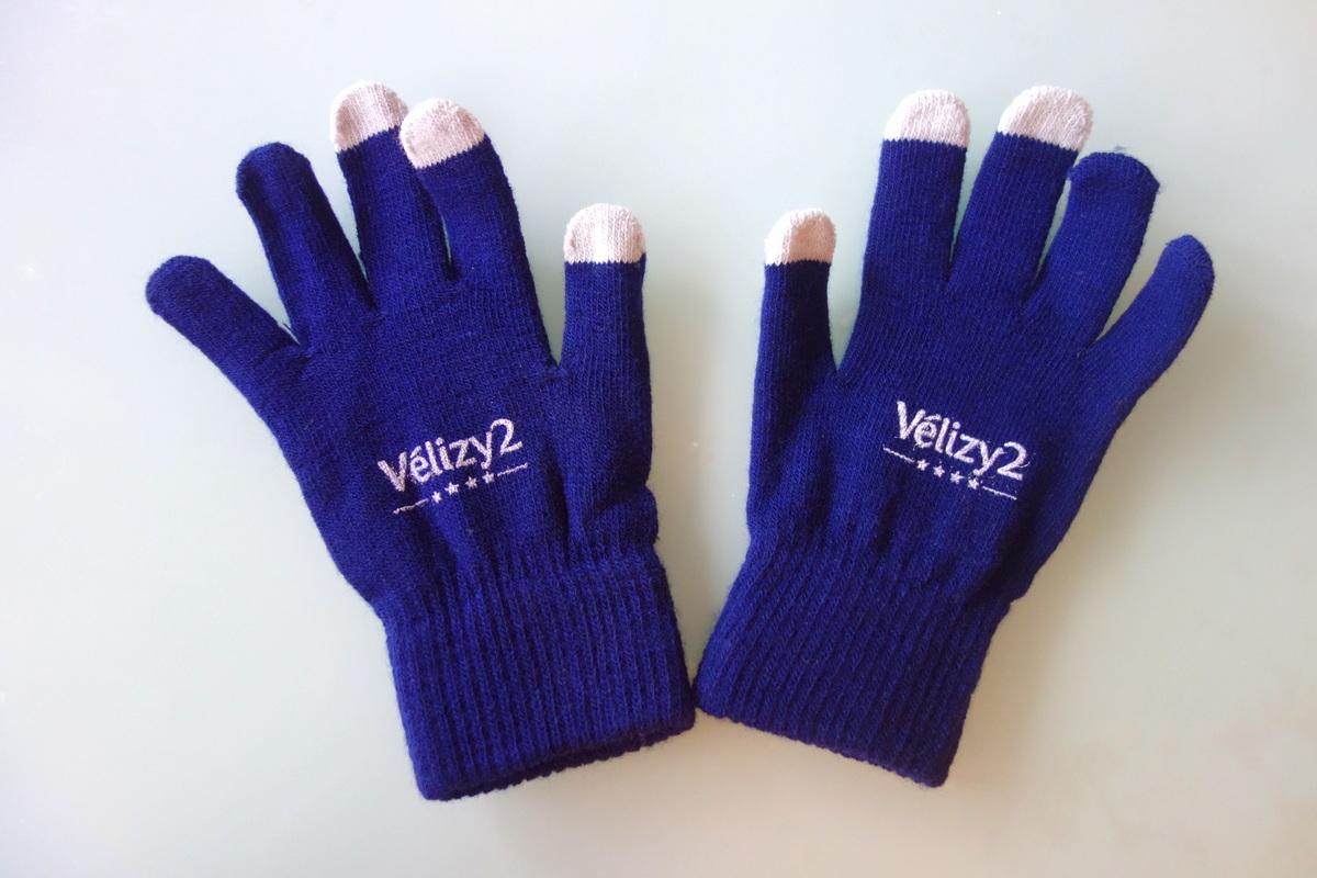 Vélizy 2 - Gants tactiles offerts avec la carte de fidélité