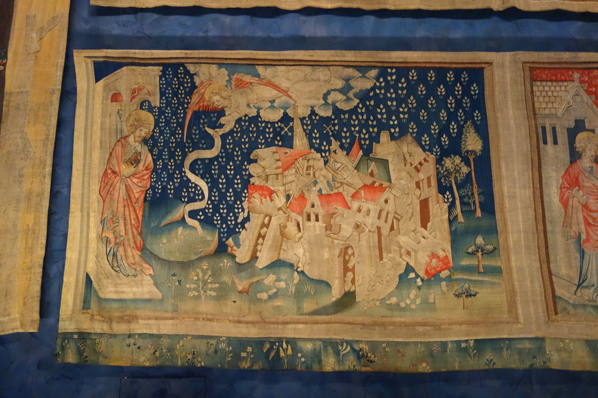 La Tapisserie de l'Apocalypse - Château d'Angers - Blog de Lili, voyage