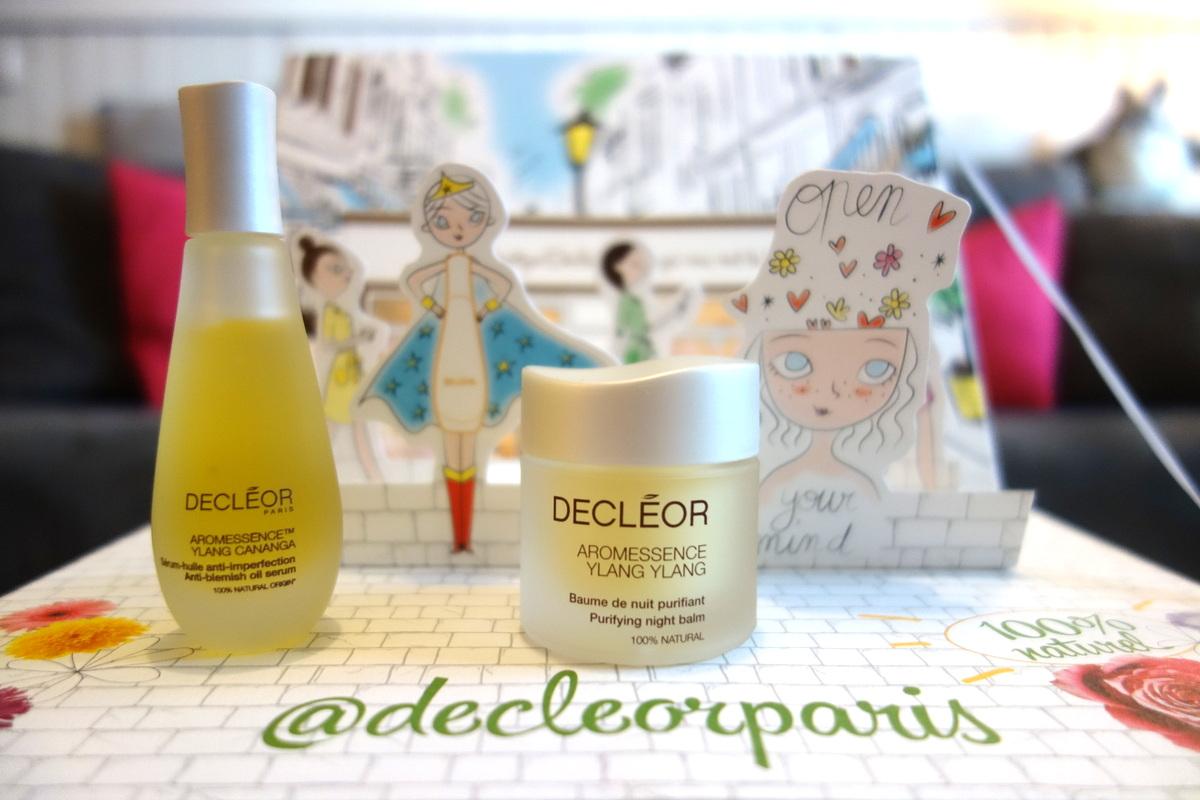 Coffret Décléor Paris aromessence - Blog beauté