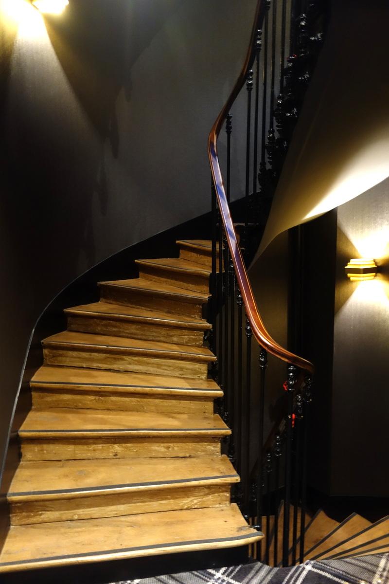 Les parties communes de l'hôtel Whistler à Paris - Le blog de Lili