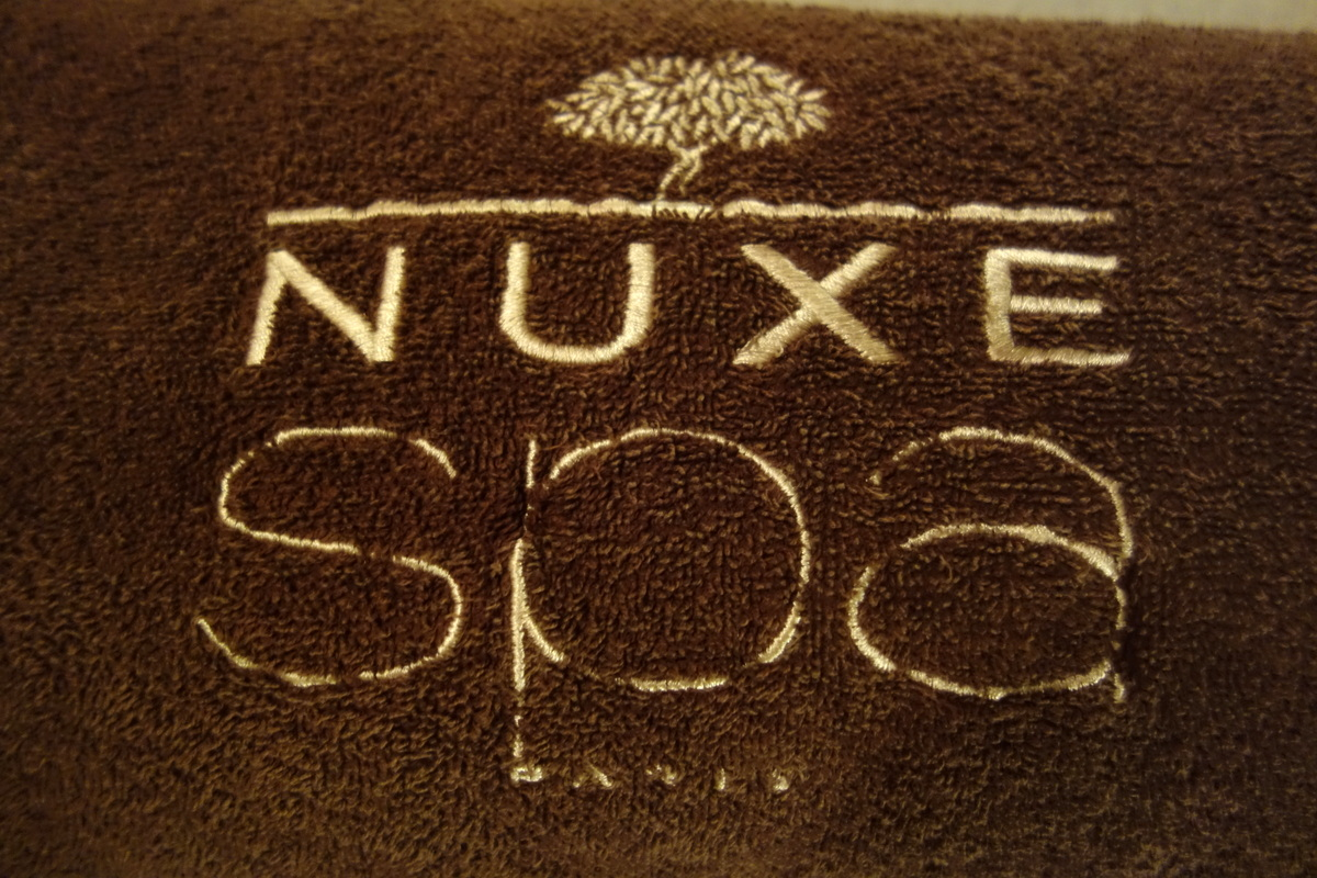 Spa Nuxe Montorgueil Paris - Serviette