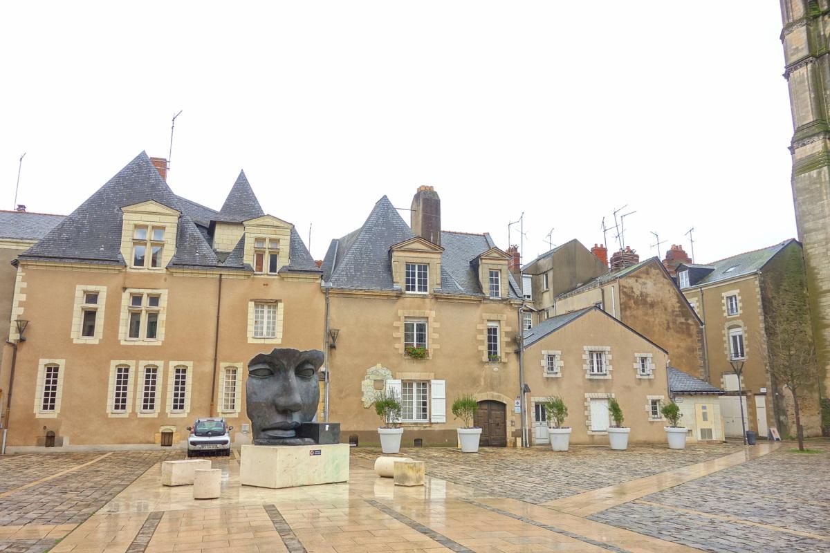 Angers, le quartier des musées