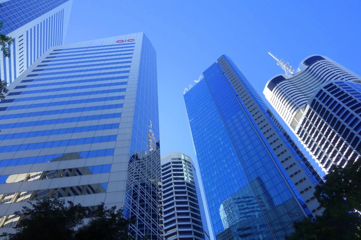 Voyage en Australie : Brisbane, les immeubles