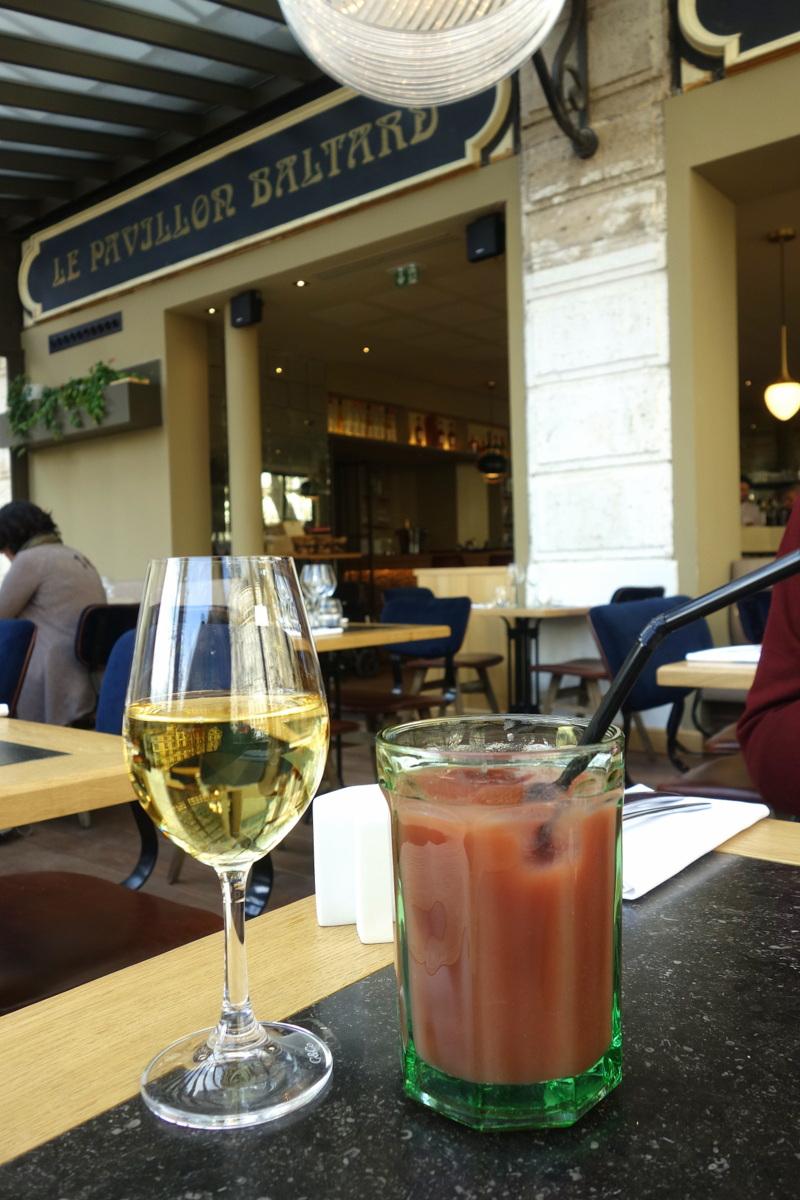 Déjeuner au Baltard au Louvre, Paris