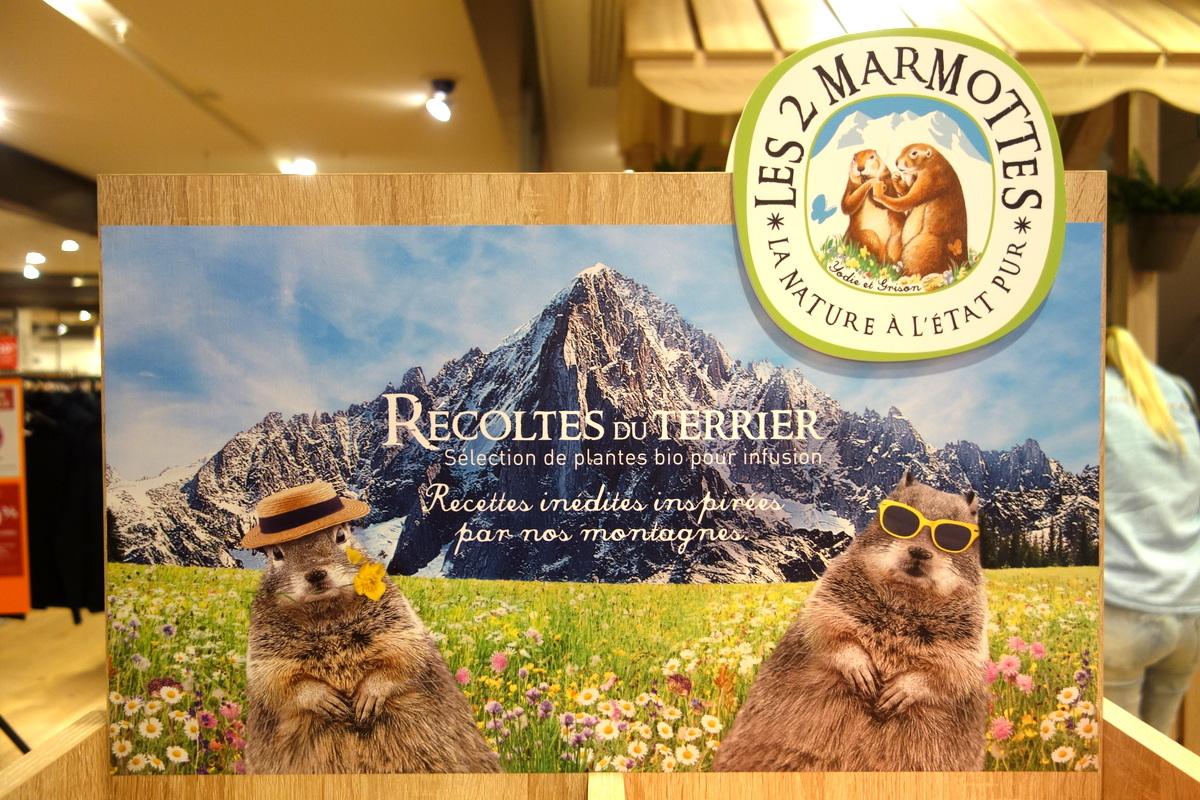 Les 2 Marmottes - Récoltes du terrier