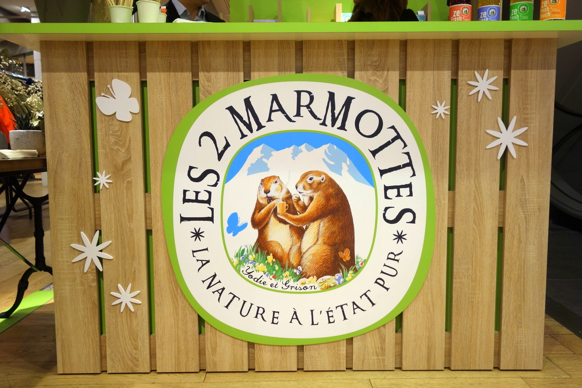 Les 2 Marmottes - Debout les marmottes, BHV Marais