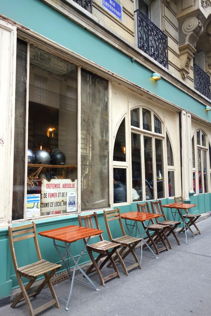 Le barbe à papa, restaurant parisien