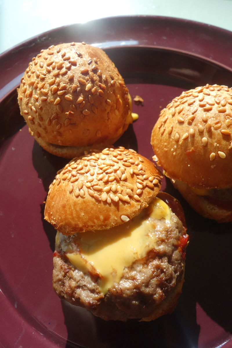 Mini-cheeseburgers Paso traiteur - Blog food