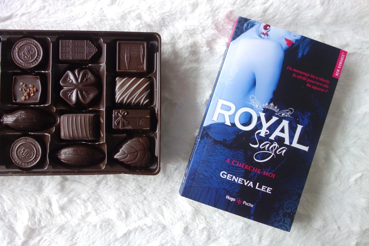 Royal Saga tome 4 : Cherche-moi, de Geneva Lee - Blog partenaire Hugo new romance