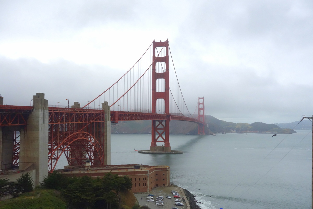 Voyage à San Francisco - Golden gate bridge - Le blog de Lili