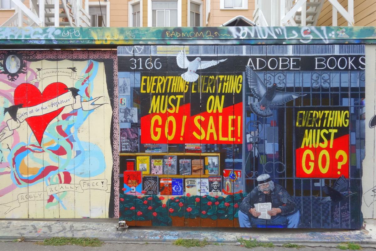Voyage à San Francisco - Mission, street art - Le blog de Lili
