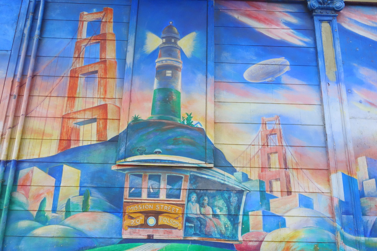 Voyage à San Francisco - Mission, street art - Le blog de Lili