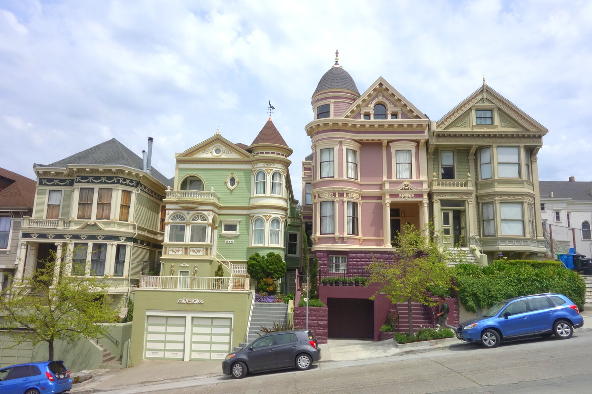 Voyage à San Francisco - Painted ladies - Le blog de Lili