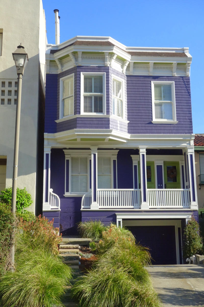 Voyage à San Francisco - Les maisons de Nob hill - Le blog de Lili