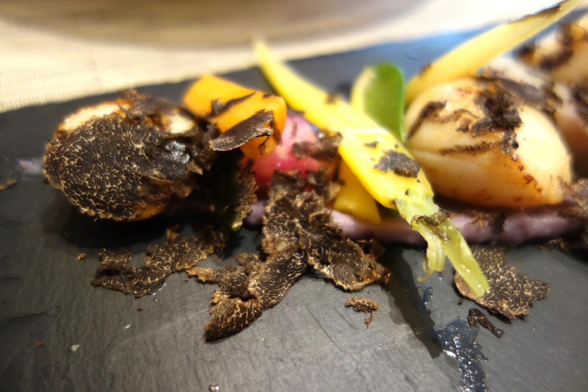 Truffes folies, restaurant à Paris, rue de Berri - Le blog de Lili
