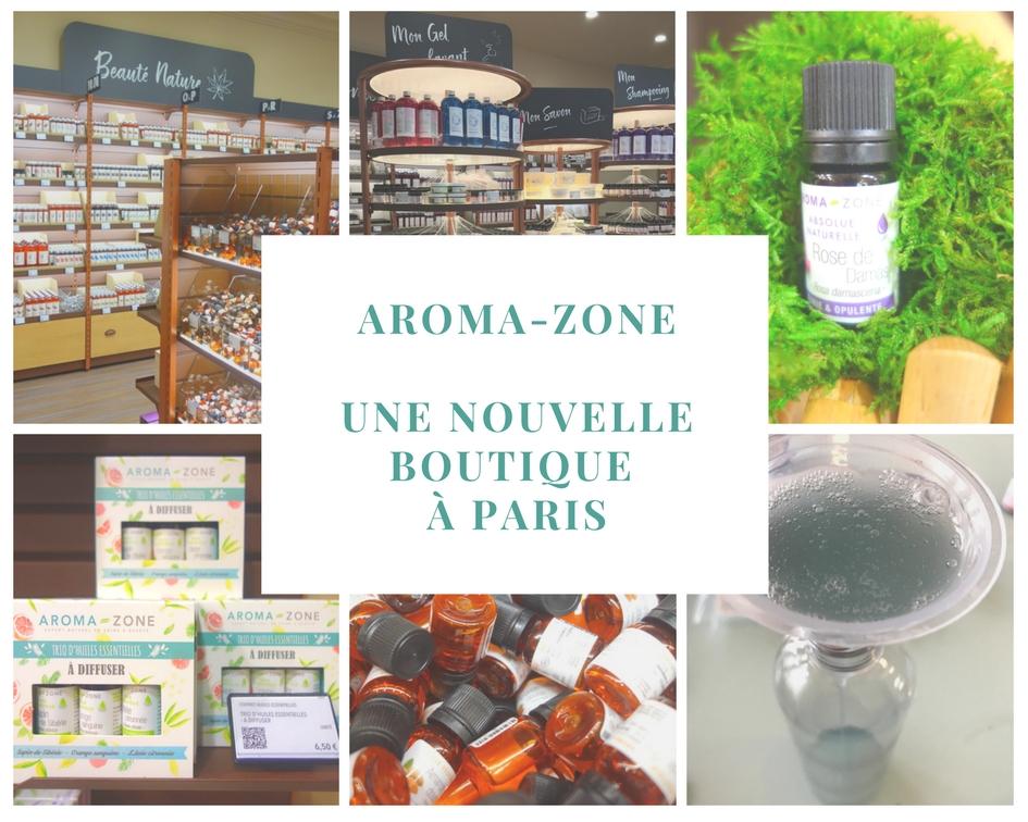 Aroma-zone : une nouvelle boutique à Paris
