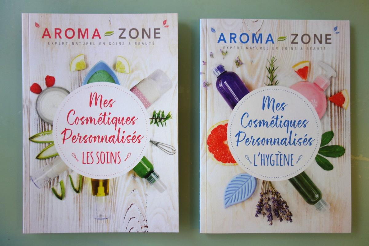 Aroma-Zone - Boutique boulevard Haussmann - Livrets