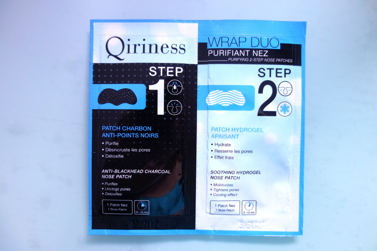 Beauty press - Patchs Qiriness pour le nez