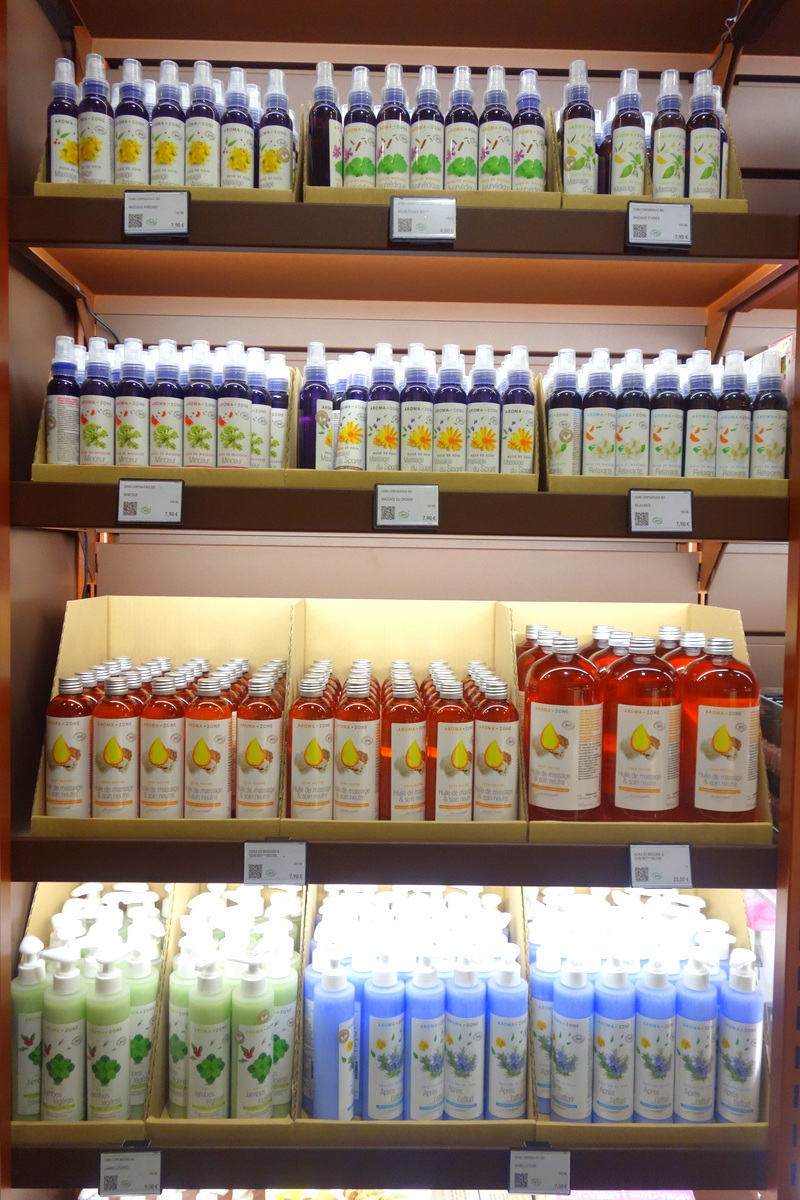 Boutique Aroma-Zone boulevard Haussmann, Paris