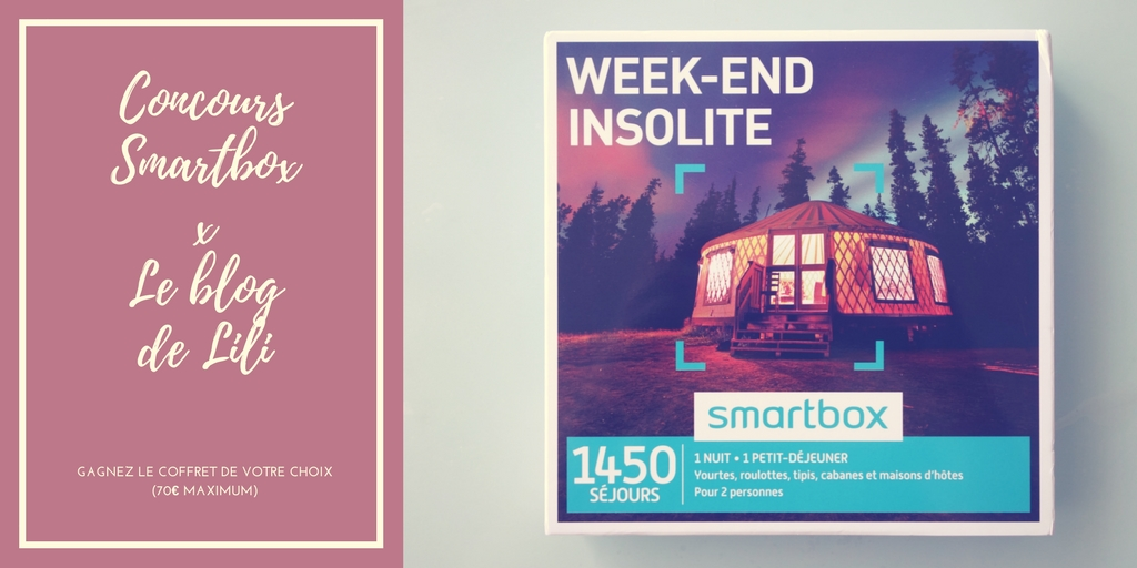Concours Smartbox x Le blog de Lili