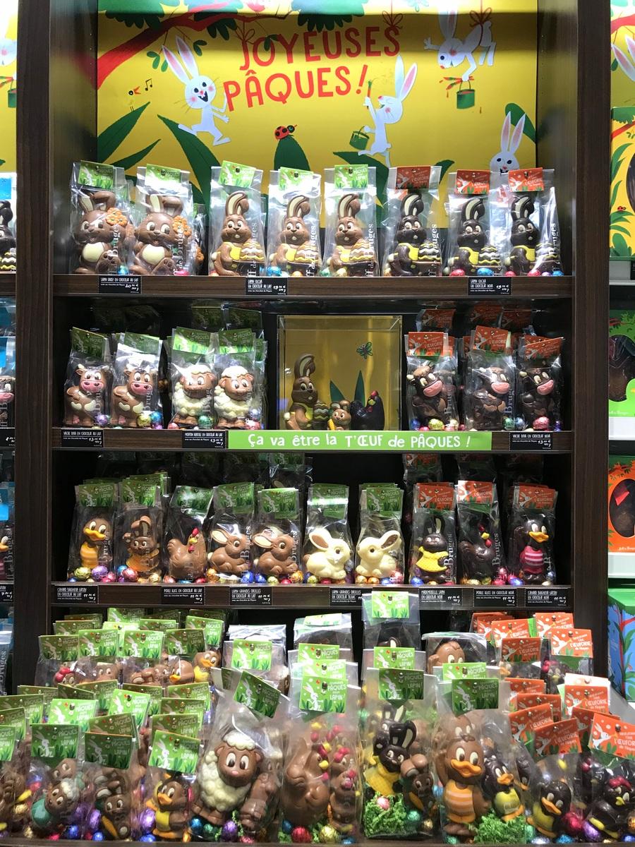 Boutique Jeff de Bruges à Vélizy 2 pour Pâques