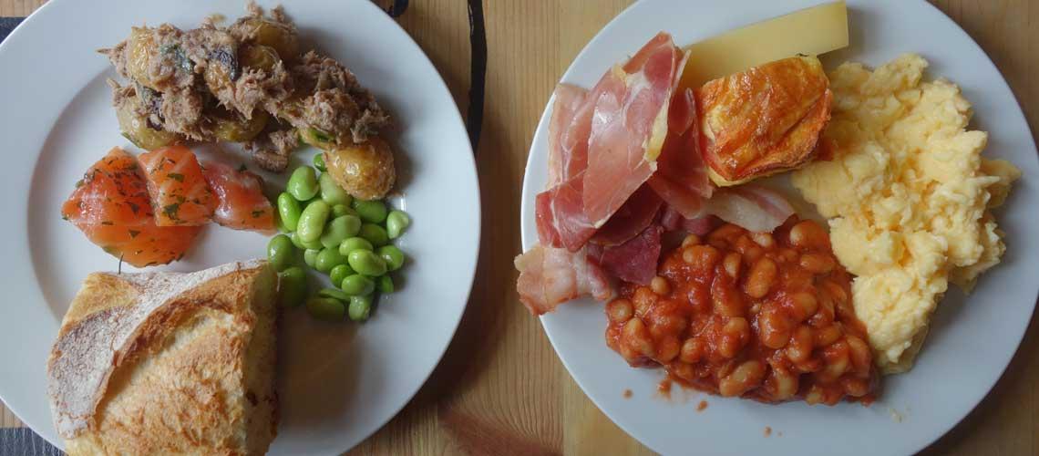 Le brunch buffet du trois bis, restaurant de la Gaîté lyrique