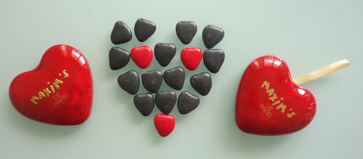 Coffrets de dégustation de chocolats Maxim's de Paris