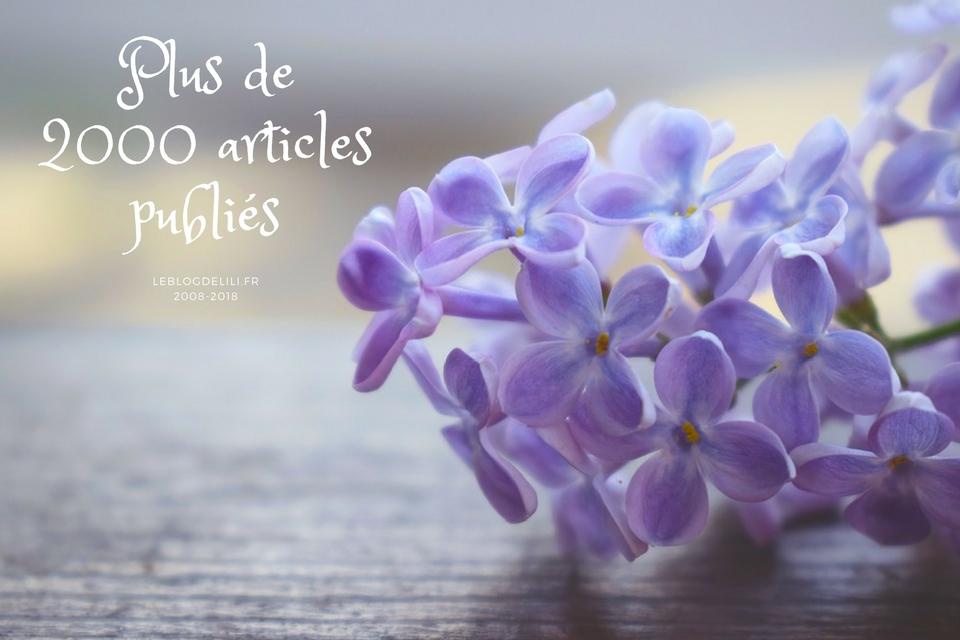 Plus de 2000 articles sur leblogdelili.fr