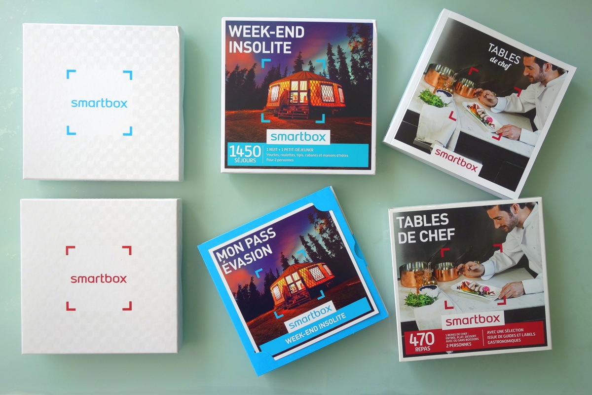 Smartbox : week-end insolite et tables de chef