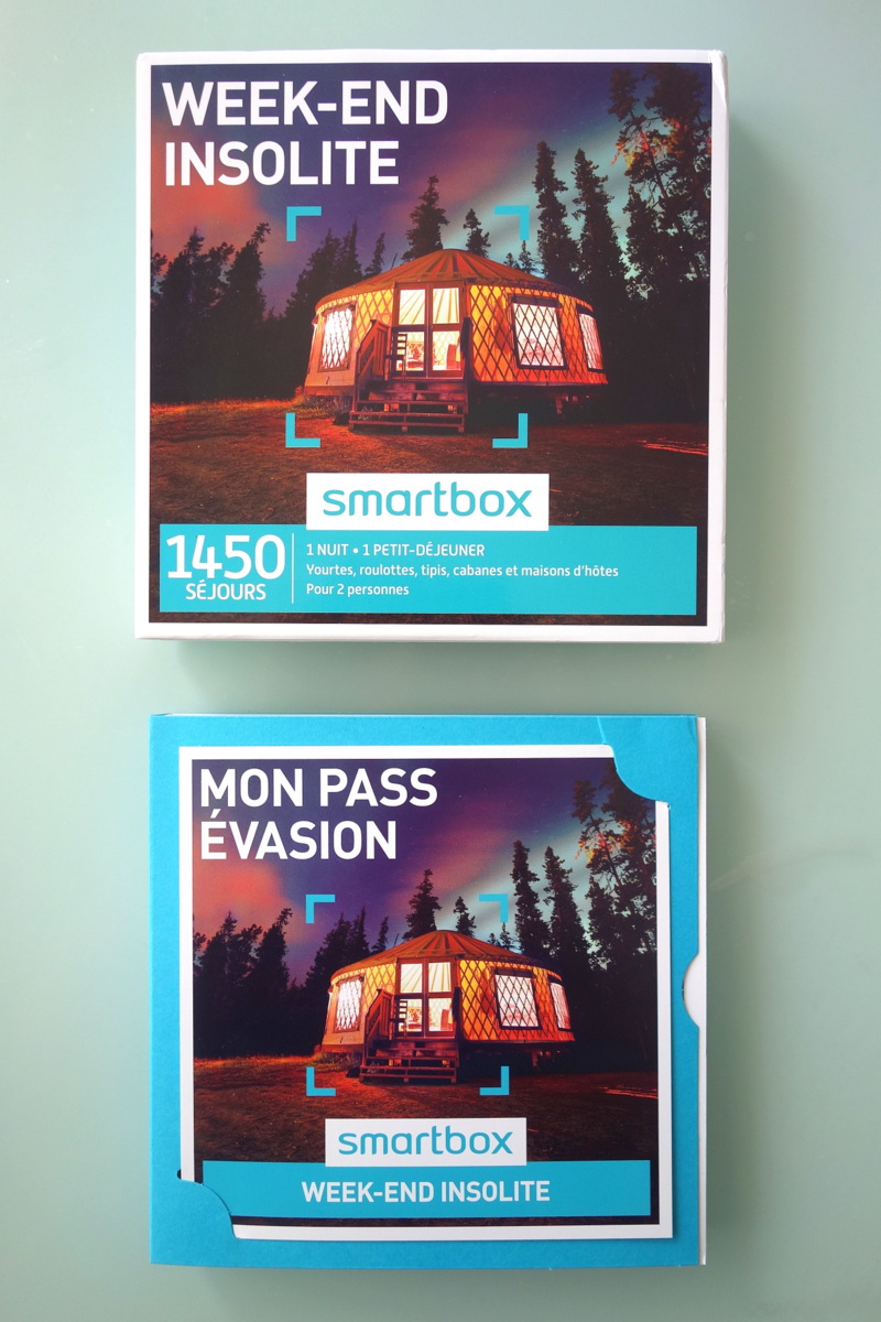 Smartbox : week-end insolite