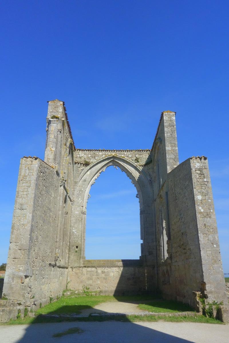 Ile de Ré - Abbaye des Châteliers