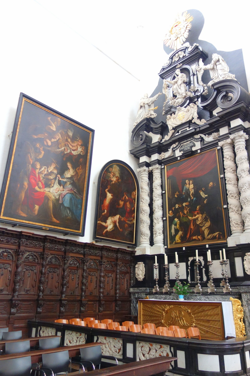 Anvers, Belgique - Église Saint-Paul