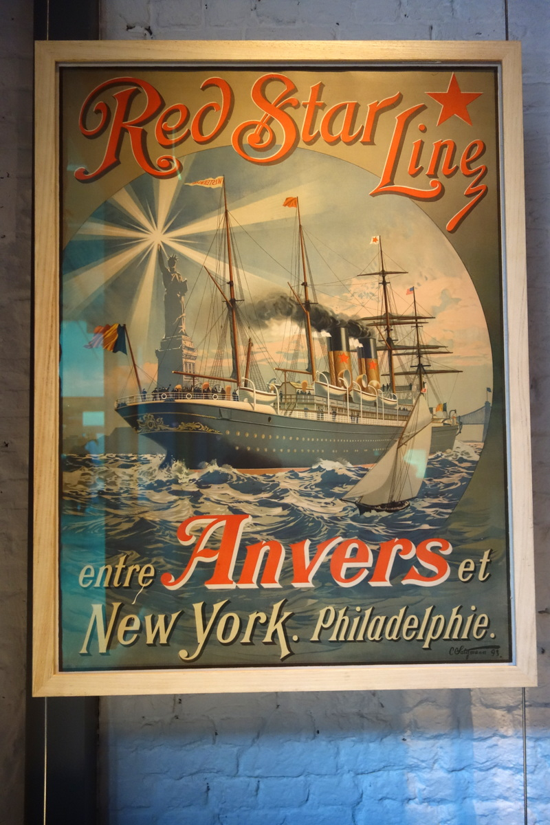 Anvers, Belgique - Red star line