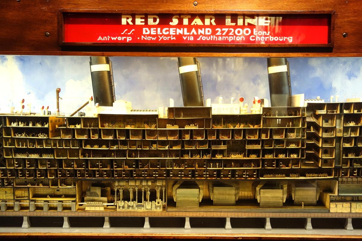 Anvers, Belgique - Red star line