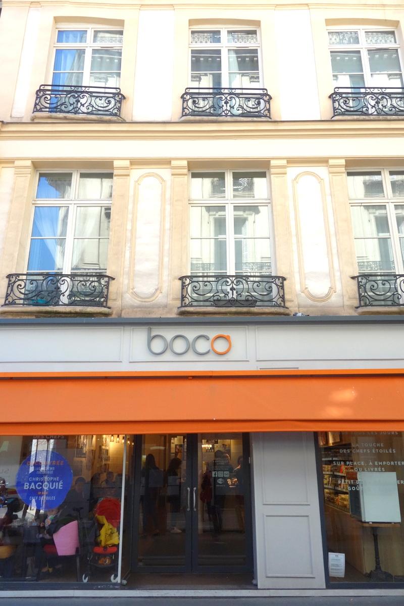 Boco Opéra - carte du printemps 2018
