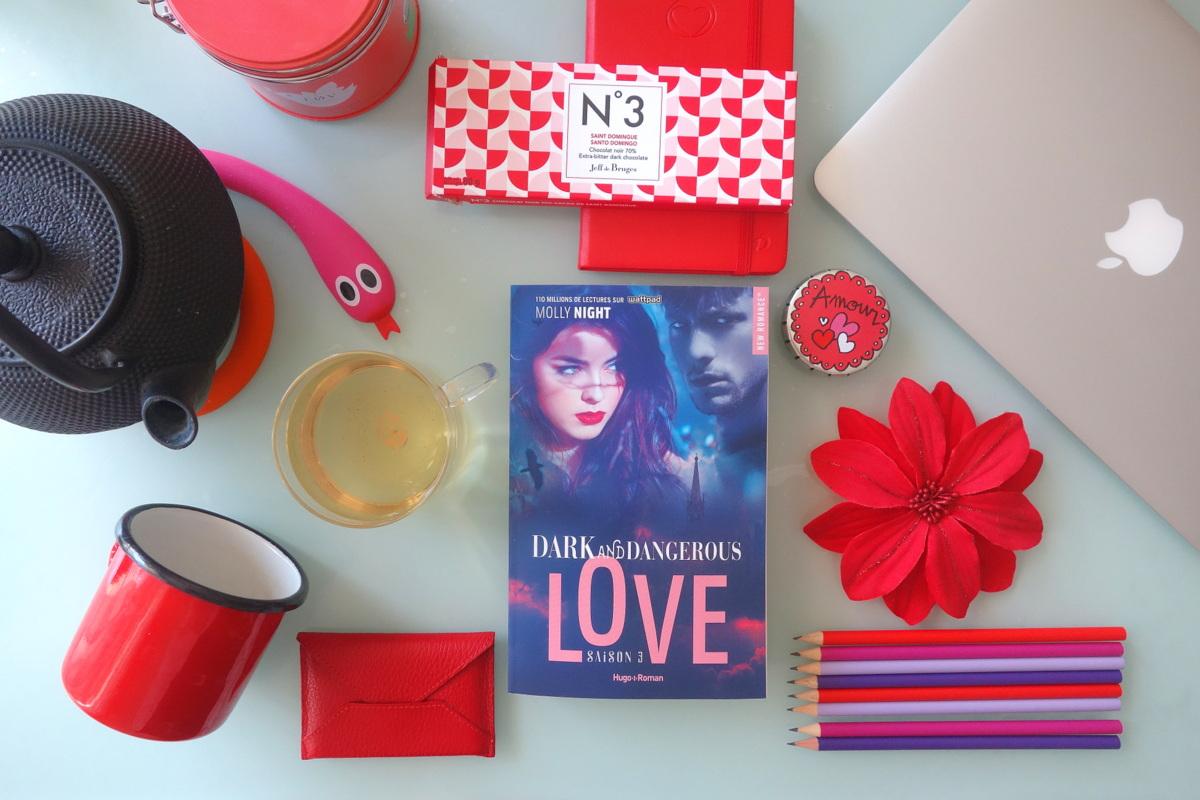 Dark and dangerous love saison 3 - Molly Night - Hugo New romance