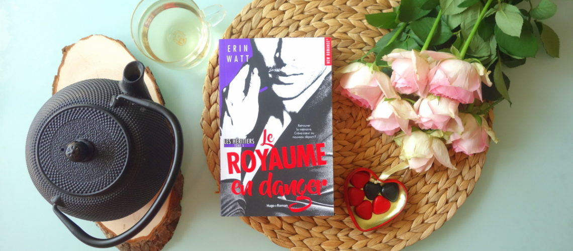 Le Royaume en danger, Erin Watt, Hugo new romance - Blog lecture