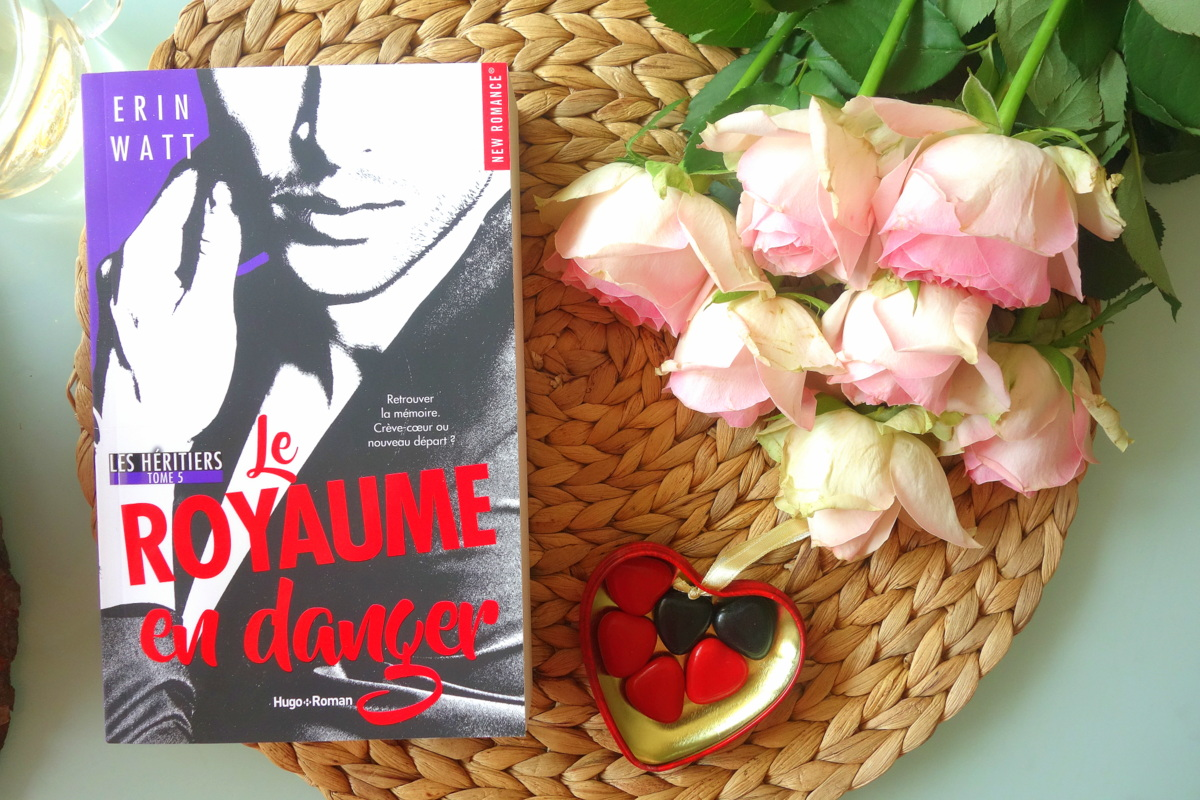 Le Royaume en danger, Erin Watt, Hugo new romance - Blog lecture